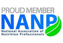 Proud Member - NANP - National Association of Nutrition Professionals